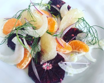 Citrus Salad, Fennel, Red Onion