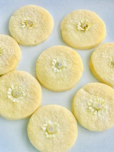 Chamomile Sugar Cookies