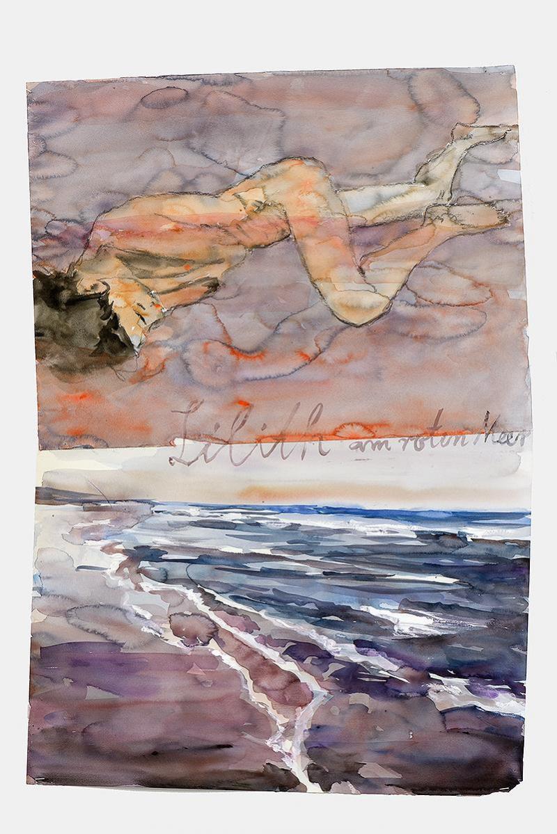 Lilith am Roten Meer de Anselm Kiefer, 2012.