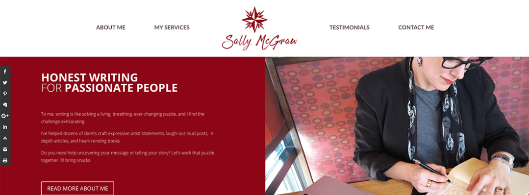 Sally McGraw website