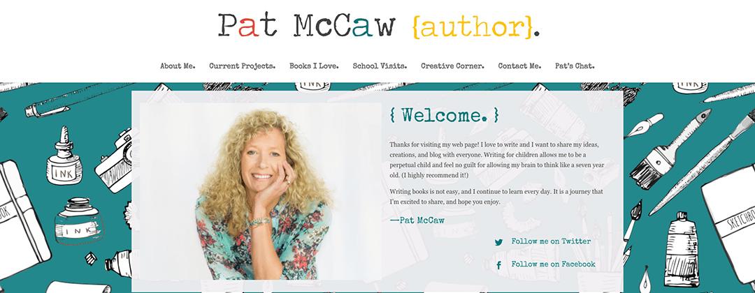 Pat McCaw website