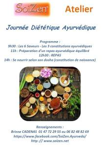 Photo Flyer DIETETIQUE AYURVEDIQUE SoiZen