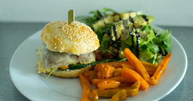 Veggie-Burger mal wieder