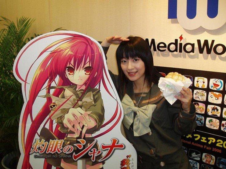 Kagura's seiyuu, Rie Kugimiya, to appear in the live-action Gintama