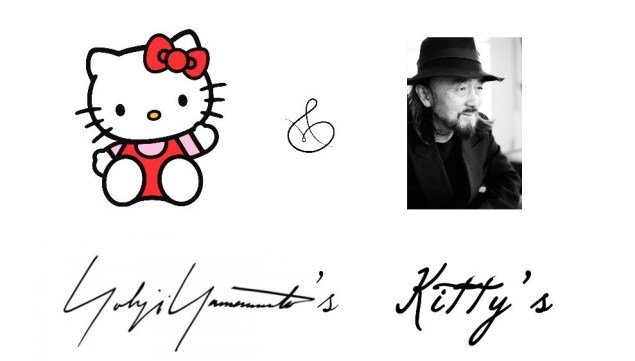 Yohji Yamamoto Hello Kitty