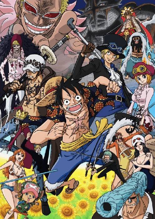 [ANIME] New key visual unveiled as One Piece enters the Dressrosa Arc