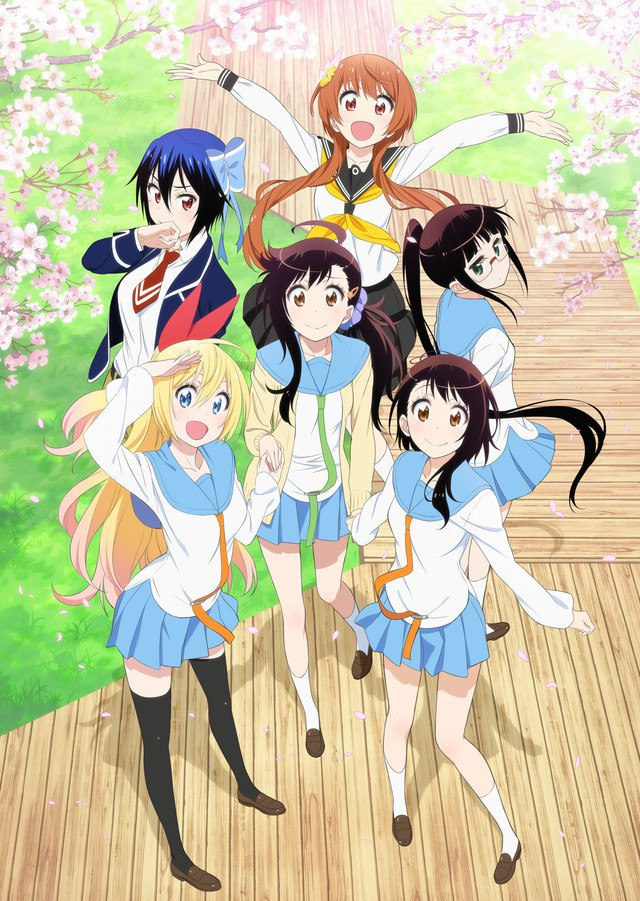 [ANIME] Nisekoi Best Songs CD cover and season 2 visual unveiled