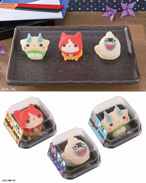 [FOOD] These Yo-Kai Watch candies are just too cute to eat