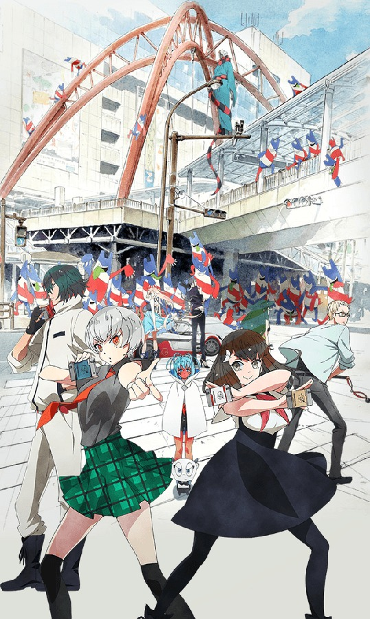 [ANIME] Gatchaman Crowds Insight's villain to be voiced by Kana Hanazawa, new visual unveiled