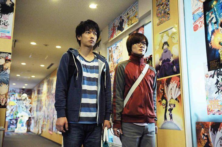 [MOVIE] Live-action Bakuman screenshots reveal Weekly Shounen Jump! HQ