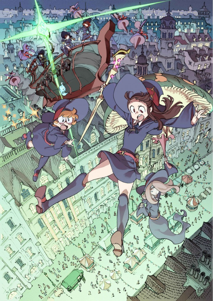 [ANIME] Little Witch Academia 2 to premiere during Anime Expo 2015 in Los Angeles
