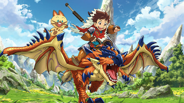 [ANIME] Monster Hunter Stories TV Anime announced during Tokyo Game Show 2015