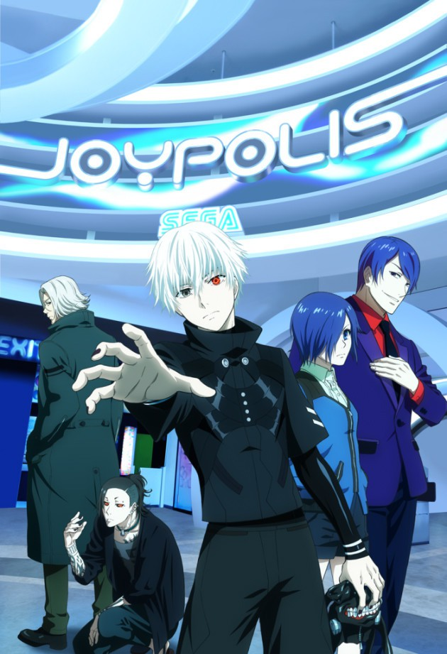 [ANIME] Ghouls take over Joypolis for official Tokyo Ghoul collaboration