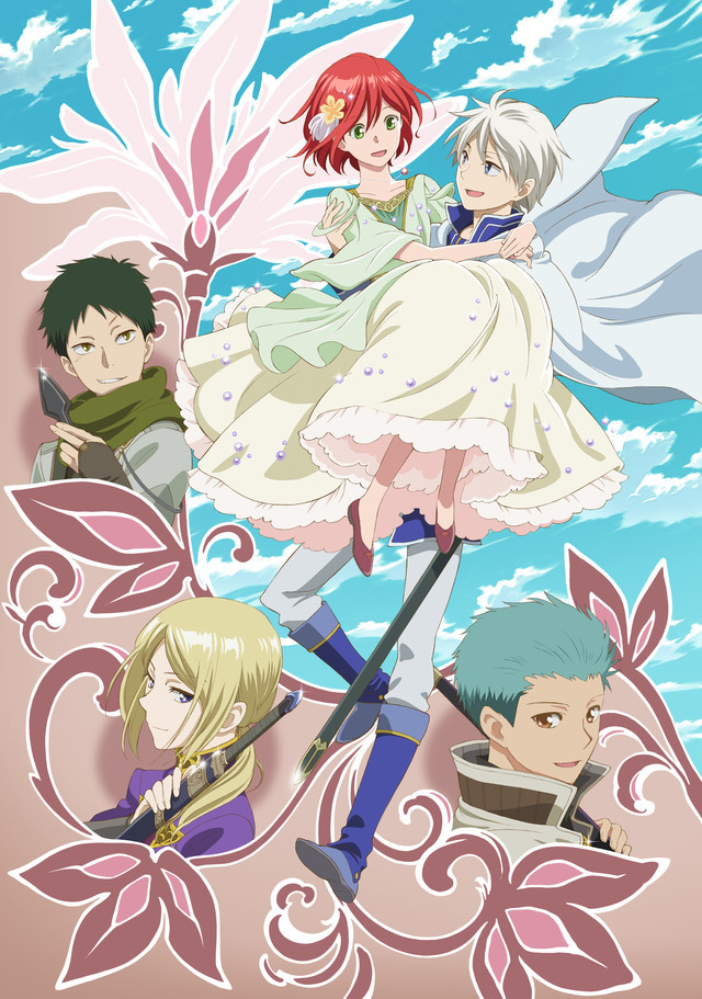 [NEWS] Akagami no Shirayukihime season 2 reveals more cast , key visual