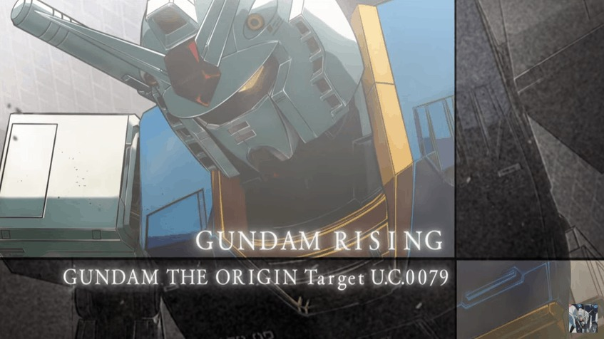 [ANIME] Gundam Rising ~Gundam the Origin Target U.C.0079 Trailer