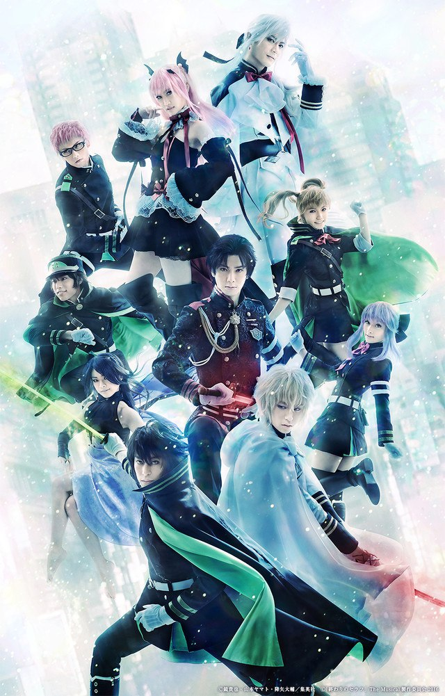 [ENTERTAINMENT] Seraph of the End the Musical's new visual reveals cast in costume