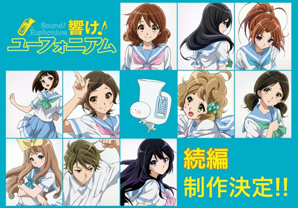 [ANIME] Sound! Euphonium TV anime gets a sequel and a new movie