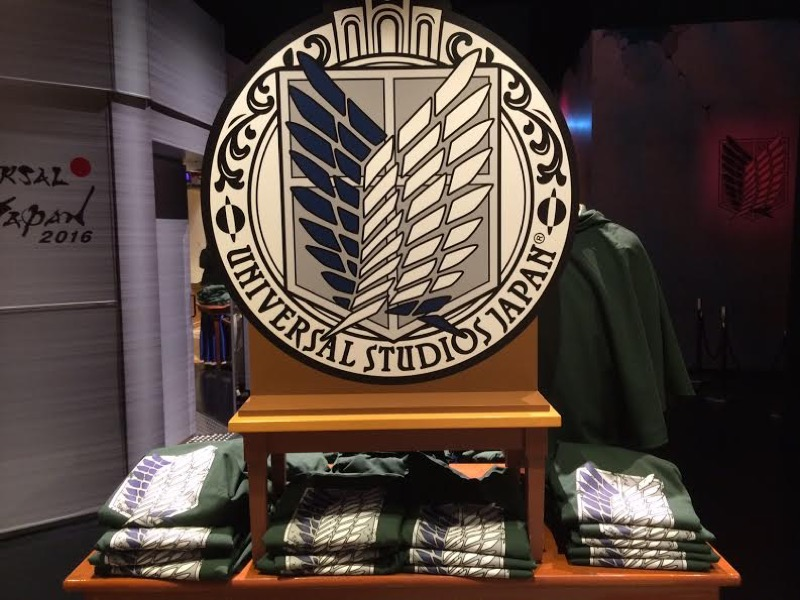 [JAPAN] Universal Studios Japan has also opened an Attack on Titan shop