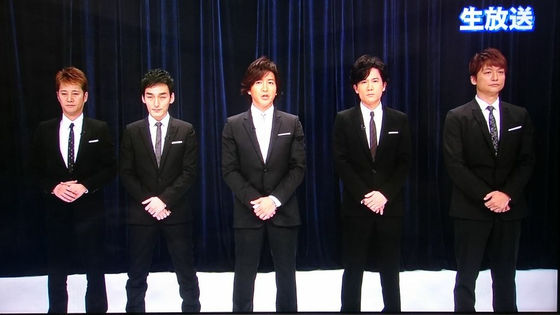 [ENTERTAINMENT] SMAP members acknowledge break up rumors but did not comment about it