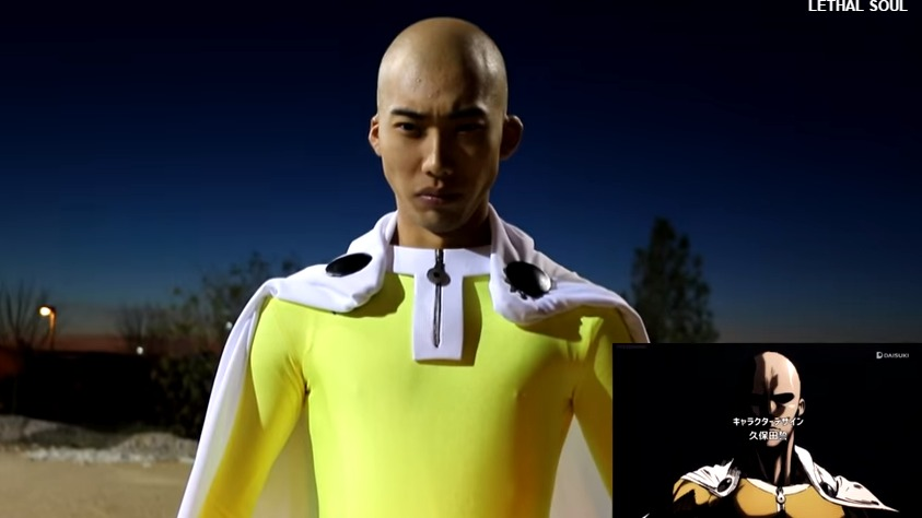 [COSPLAY] Hilarious Fan-Made Parody of One Punch Man's OP