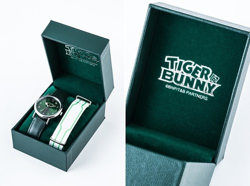 [LOOT] Tiger and Bunny Inspire New Official Wristwatches