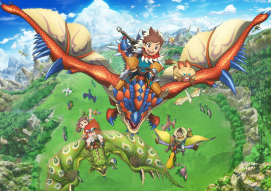 [ANIME] Monster Hunter Stories Ride On TV anime reveals release date, character visuals, and key visual