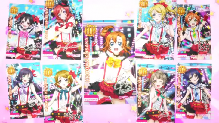 [GAMES] Love Live! School Idol Festival arcade game previewed in new video