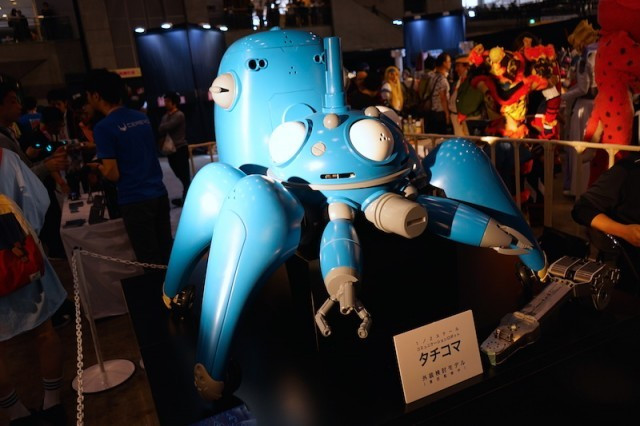 [ANIME] 1/2 Scale Tachikoma from Ghost in the Shell is Displayed at Nico Nico Super Conference 2016