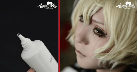 """[COSPLAY] Fake Tear Gel allows Cosplayers to """"cry"""" during shoots or events"""