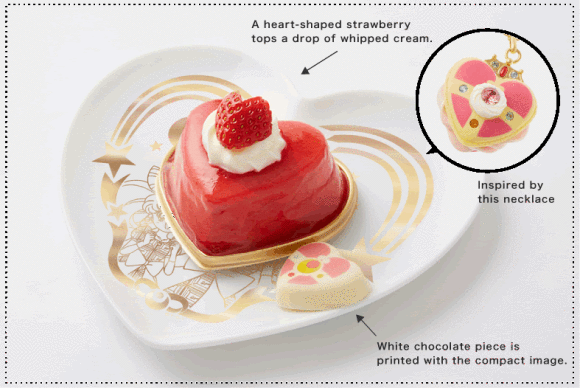 [FOOD] Check out these exquisite Sailor Moon desserts and accessories from Tokyo's Q-Pot Cafe