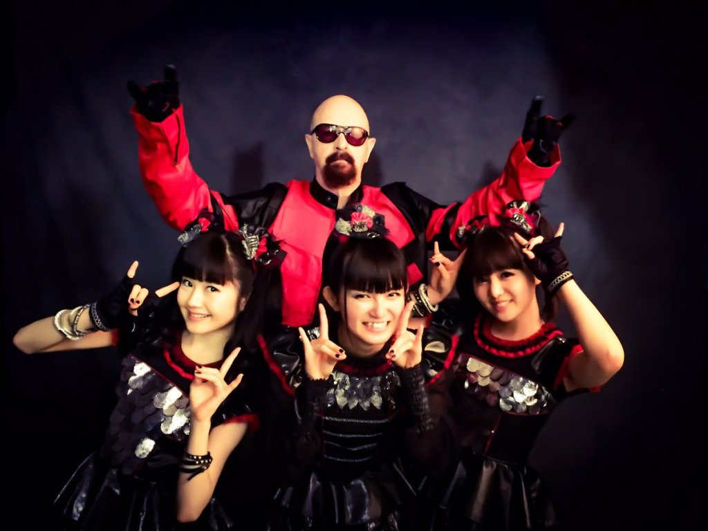 BABYMETAL covers Judas Priest with band's legendary frontman, Rob Halford