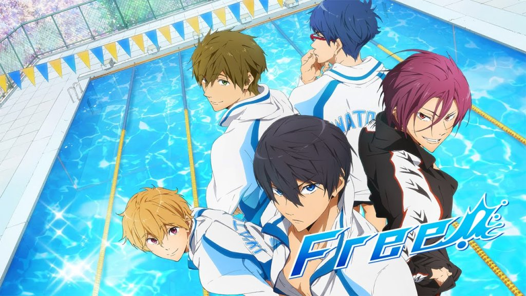 Free! -Take Your Marks- anime film reveals title of four parts and release date