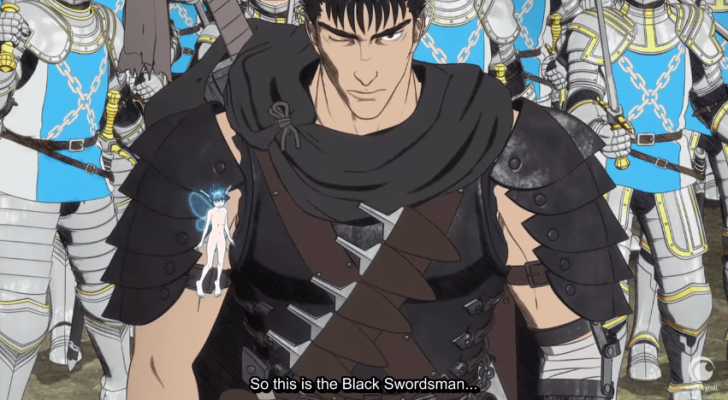 Berserk gets a new English subtitled extended trailer