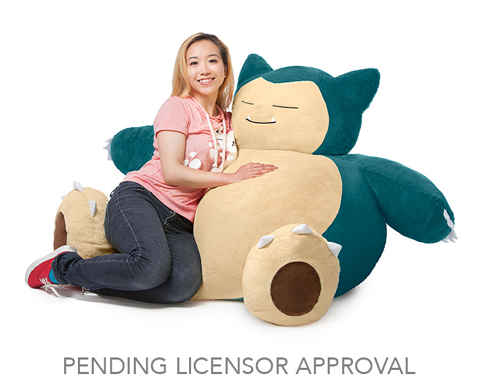Snuggle up with this new Snorlax Bean Bag