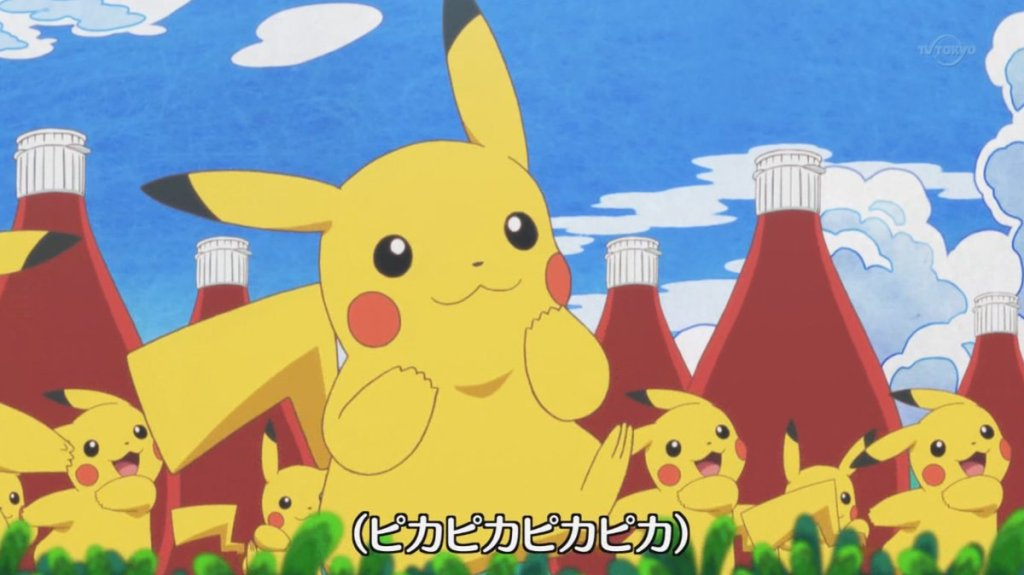 Pikachu shows some love for ketchup in new Pokemon XY&Z song