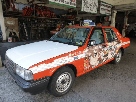 Itasha taxi begins service in Tokyo, just in time for Comiket!