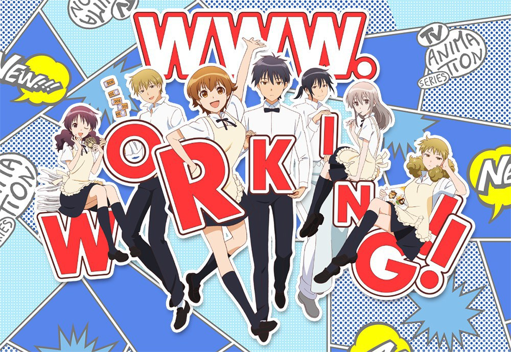 WWW.WORKING TV Anime Introduces Characters in Trailer
