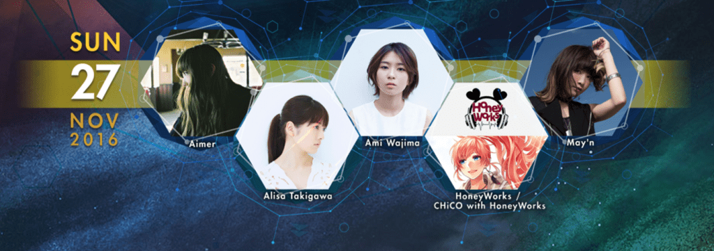 [AFASG16] I LOVE ANISONG: Day 3 – LADIES' NIGHT