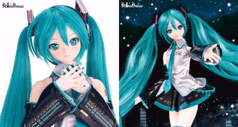Volks is actually making a robotic Hatsune Miku doll