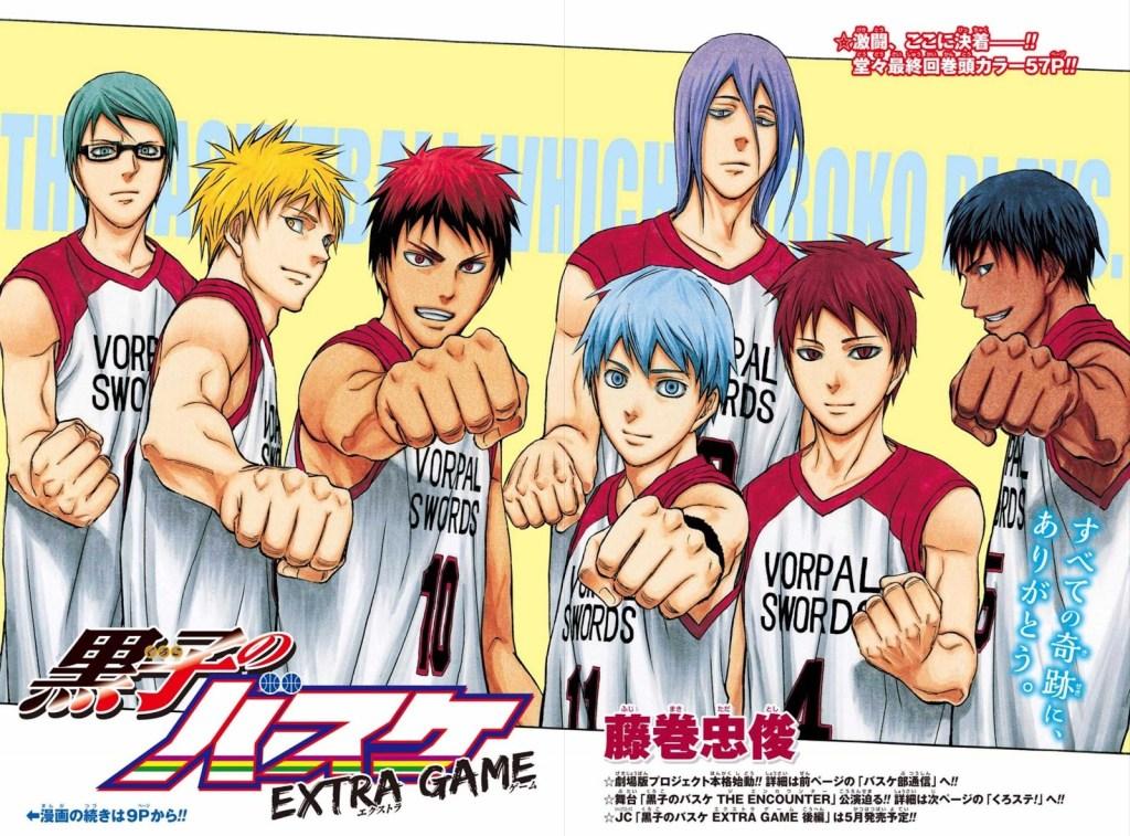 New Teaser PV for Kuroko's Basketball: Last Game film