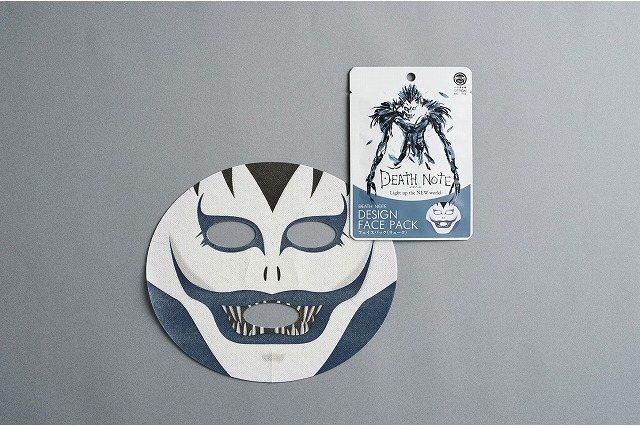 Ryuk face masque from Death Note makes you look scary and beautiful