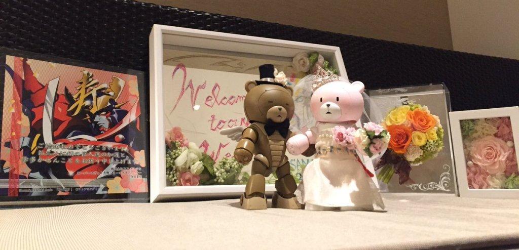Bubblegum Crisis director marries popular GunPla modeler 27 years younger than him