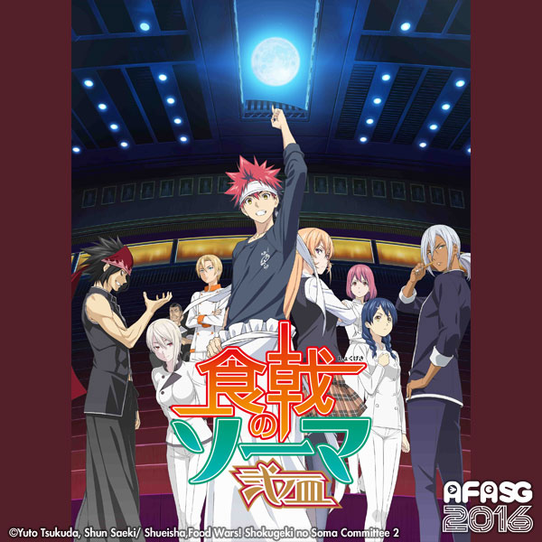 AFASG16: Food Wars! Shokugeki no Soma The Second Plate