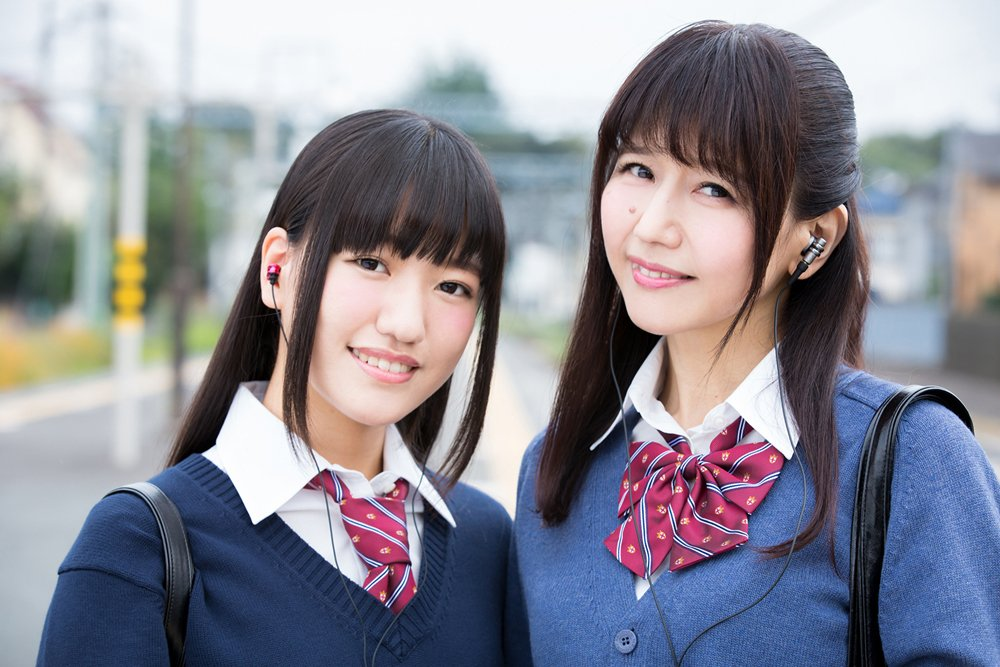 Legendary seiyuu, Kikuko Inoue cosplays as a schoolgirl with her daughter