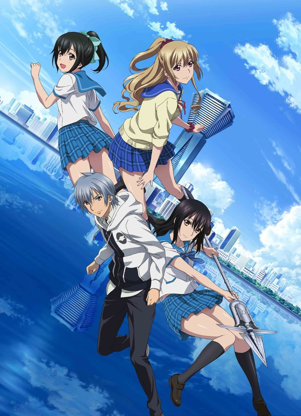 Strike the Blood II OVA's first three minutes and OP sequence videos revealed