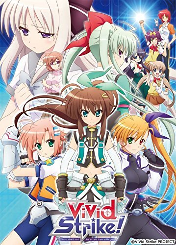 Lyrical Nanoha spin-off anime, ViVid Strike, is getting a Christmas-themed TV special