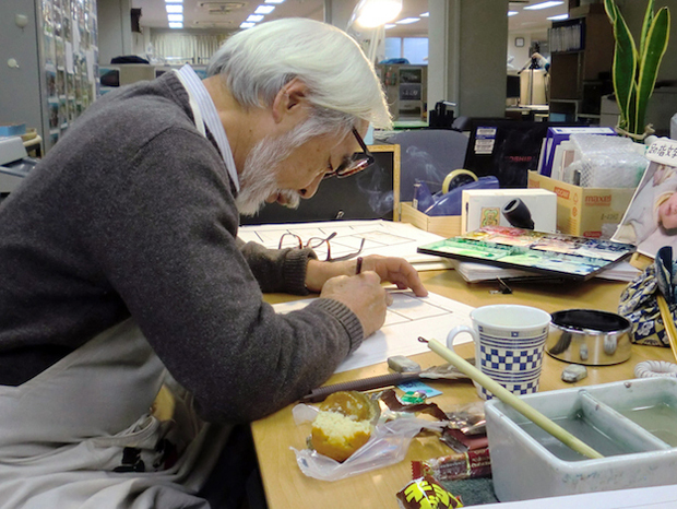 "Hayao Miyazaki is looking for In-between Animators and Background artists for his ""final film"""