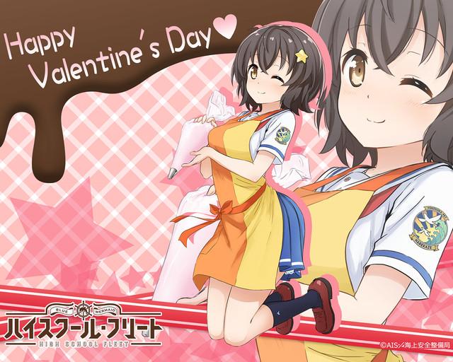 High School Fleet reveals OVA details, Valentine's artwork