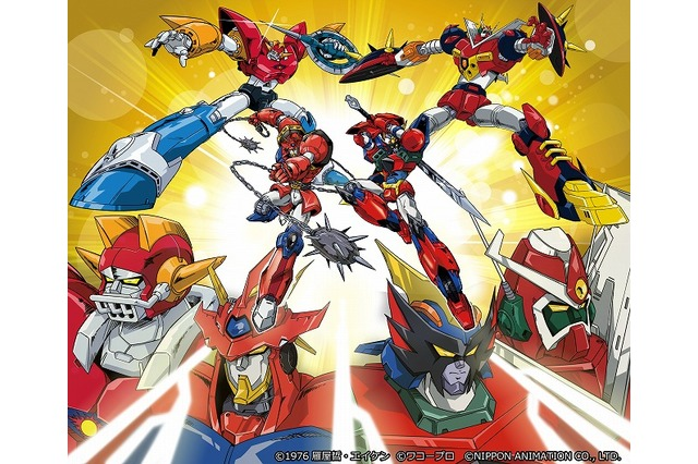 Three studios and four classic mecha anime team up for crossover series: Miracle Robot Force