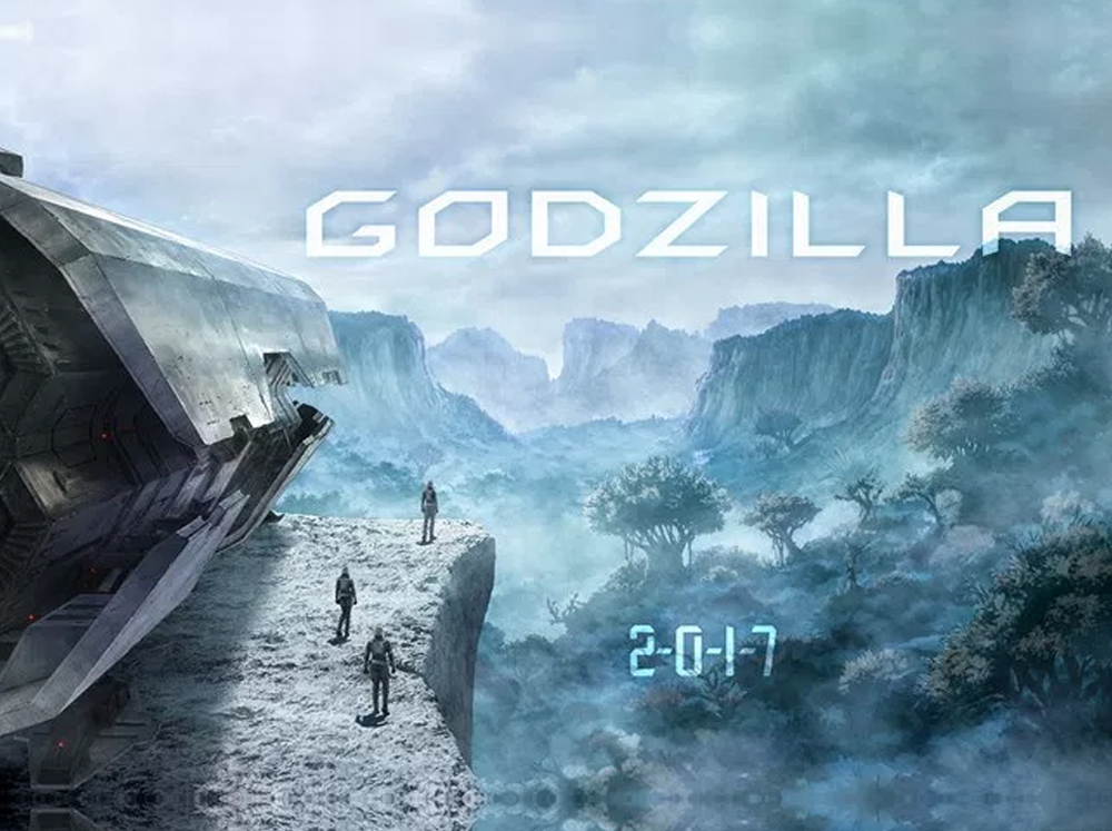 Gen Urobuchi's Godzilla anime film trilogy reveals new PV, characters